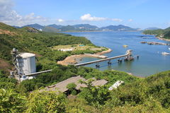 Lamma Island landscape view in Hong Kong Royalty Free Stock Photos