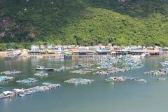Lamma Island landscape view in Hong Kong Stock Photos