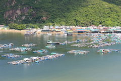 Lamma Island landscape view in Hong Kong Stock Photo