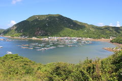 Lamma Island landscape view in Hong Kong Stock Image