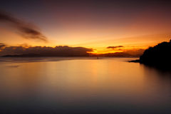 Lamma Island sunset. Sunset , photographed in Hong Kong Lamma Island Stock Images
