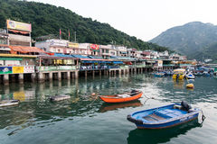 Lamma Restaurants Royalty Free Stock Images