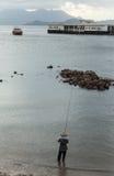 Lamma wyspa w Hong Kong Zdjęcie Stock