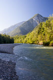 Lammer-Fluss morgens Lizenzfreie Stockbilder