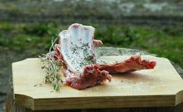 Lammfleisch Stockbild
