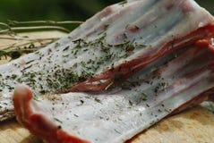 Lammfleisch für Abendessen Lizenzfreie Stockfotos