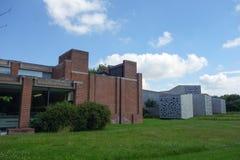 LaMmuseum i Villeneuve Ascq Royaltyfri Fotografi