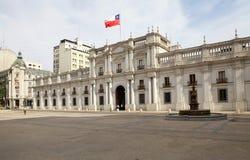 LaMoneda slott, Santiago de Chile, Chile Fotografering för Bildbyråer