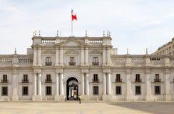 LaMoneda slott, Santiago de Chile, Chile Royaltyfria Bilder