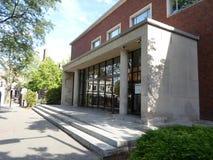 Lamont biblioteka, Harvard jard, uniwersytet harwarda, Cambridge, Massachusetts, usa zdjęcie stock