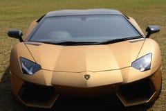 Lamorghini Aventador Lizenzfreies Stockfoto