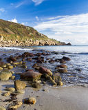 Lamorna Cove Cornwall Royalty Free Stock Photo