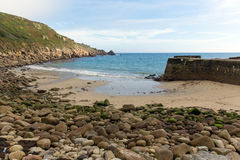 Lamorna cove Cornwall England UK on the Penwith peninsula Royalty Free Stock Image