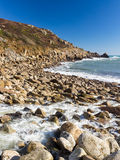Lamorna Cove Cornwall England UK Royalty Free Stock Image