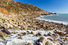 Lamorna Cove Cornwall England UK Royalty Free Stock Photography