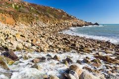 Lamorna Cove Cornwall England UK Royalty Free Stock Photography