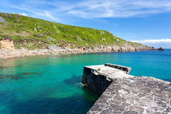 Lamorna Cove Cornwall Royalty Free Stock Images