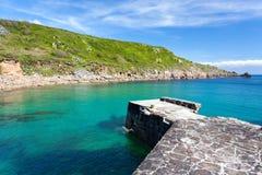 Lamorna Cove Cornwall Royalty Free Stock Images