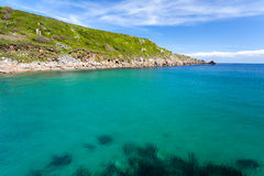 Lamorna Cove Cornwall Stock Photo