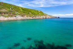 Lamorna Cove Cornwall Stock Photo
