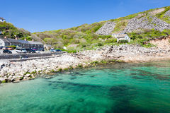 Lamorna Cove Cornwall Stock Photos