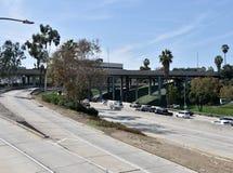 LAmotorvägsystem arkivfoto