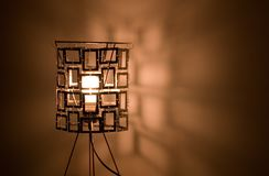 Lamp 1. A beautiful desk lamp stock images