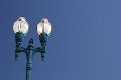 Lamp. Street lamp with sky as background stock images