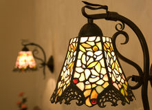 Lamp. Light lamp iron colors cute Royalty Free Stock Photos