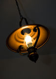 Lamp. Kerosene light glass modernist style Royalty Free Stock Photography