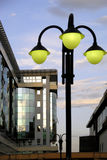 Lamp 2. Lamp at the middle in center of podgorica Royalty Free Stock Image