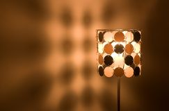 Lamp 2. A beautiful desk lamp royalty free stock photography