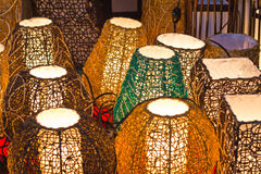 Lamp. S are handmade for the glory of fall Royalty Free Stock Image