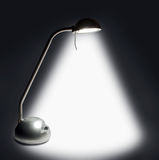 Lamp. Light in the dark Royalty Free Stock Photo