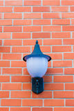 Lamp. To the wall Stock Photos