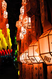 Lamp. The lamps on Thailand festival Stock Images
