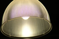 Lamp. A lamp with light inside Royalty Free Stock Photography