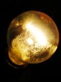 Lamp. Bright lighting in the dark Royalty Free Stock Photo