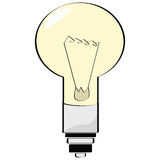 Lamp. Cartoon illustration of an electrical lamp Royalty Free Stock Photo