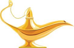 Lamp of Aladdin Stock Photography