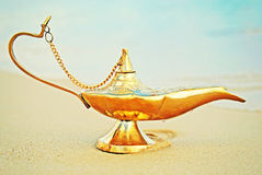 Lamp of Aladdin Royalty Free Stock Photo