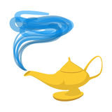 Lamp Aladdin cartoon icon Stock Images