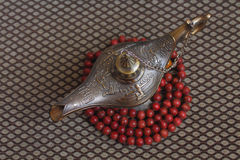 Lamp of Aladdin Stock Images