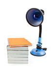 Lamp amd book Stock Photo