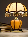 Lamp And Books Royalty Free Stock Photography