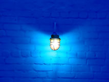 Lamp And Wall Royalty Free Stock Photo