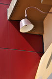 Lamp and architecture construction Royalty Free Stock Image