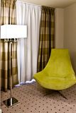 Lamp with armchair Royalty Free Stock Photos