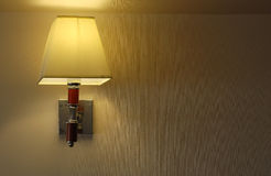 Lamp background. Design light beam home hotel Royalty Free Stock Photo