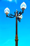 Lamp bangkok thailand   the  temple   abstract  sunny day Royalty Free Stock Photography